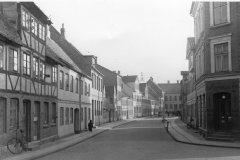 Det gamle Nyenstad, ca. 1950, set fra Skippergade