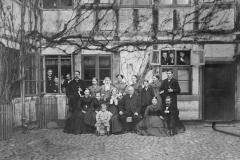 Købmand Bechs familie