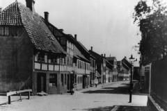 Det gamle Nyenstad, set fra enden af Kirkegade