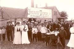 Ørbæk Marked i 1907. Afholdtes på Odensevej 1, Ørbæk